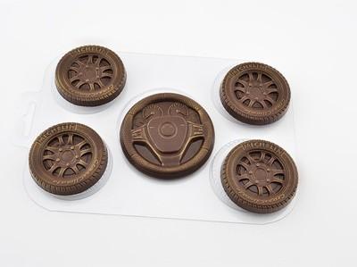 Форма для шоколада Набор автолюбителя