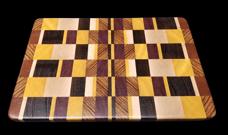 """Cutting Board, End Grain, 14 1/2"""" x 9 1/2"""" x 3/4"""" Thick"""