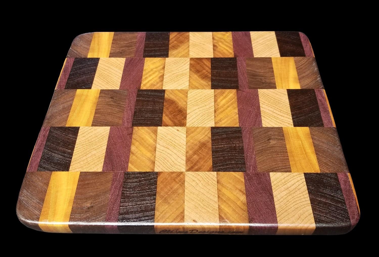 """Cutting Board, End Grain, 14 3/4"""" x 10 1/4"""" x 7/8"""" Thick"""