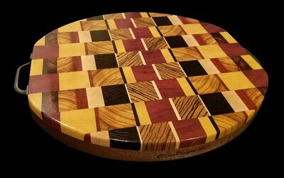 Cutting Board, 2 Layer, End Grain, 14 1/2