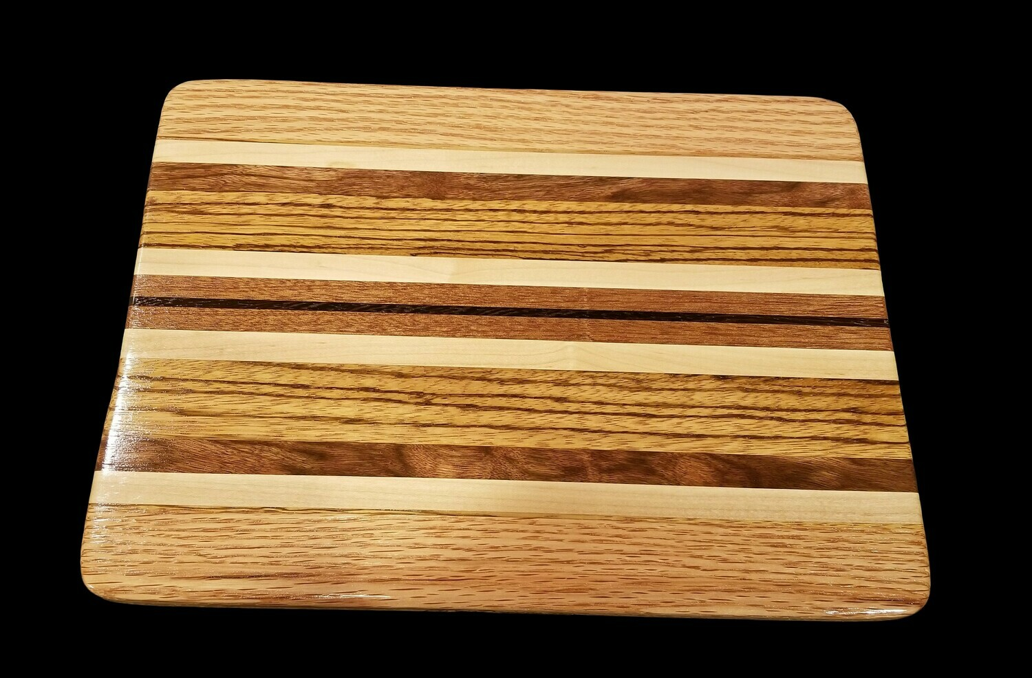 "Cutting Board, Long Grain, 13 1/2"" x 10"" x 5/8"" Thick"