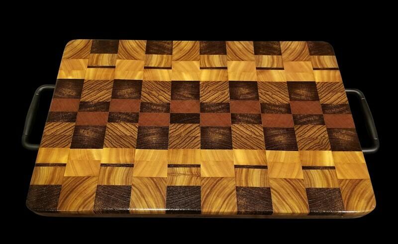 Cutting Board, 2 Layer, End Grain, 17
