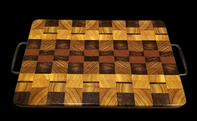 Cutting Board, 2 Layer, End Grain, 17