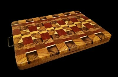 Cutting Board, 2 Layer, End Grain, 19 1/4