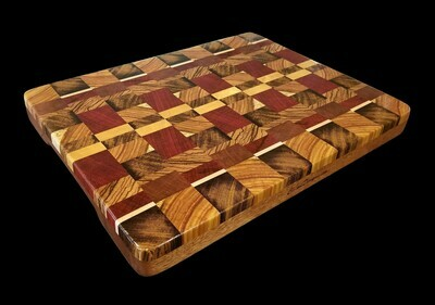 Cutting Board, 2 Layer, End Grain, 16 1/4