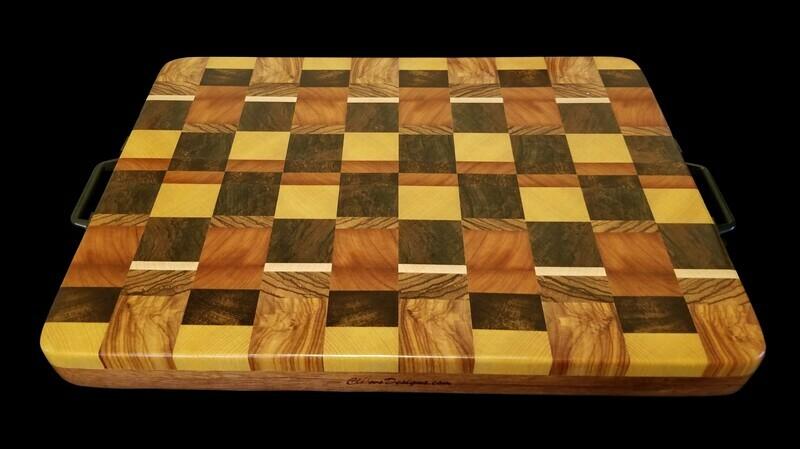 Cutting Board, 2 Layer, End Grain, 16 1/2