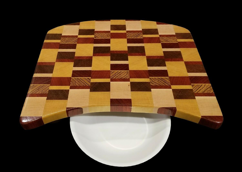 """Cutting Board, End Grain, 15 1/2"""" x 13 1/2"""" x 1"""" Thick"""