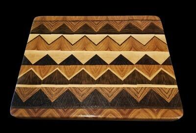 Cutting Board, Diamond, 2 Layer, 15
