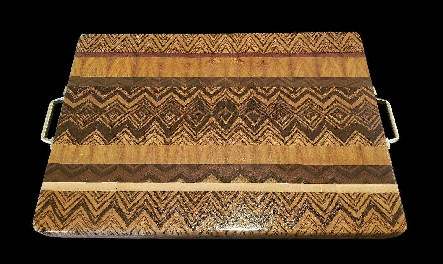 """Cutting Board, Fusion, 2 Layer, 17 1/4"""" x 12"""" x 1 1/2"""" Thick"""