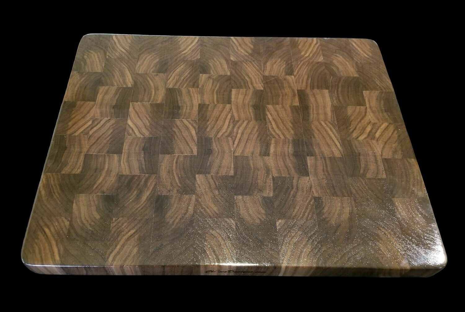 "Cutting Board, End Grain, 17"" x 13 1/4"" x 1 1/4"" Thick"