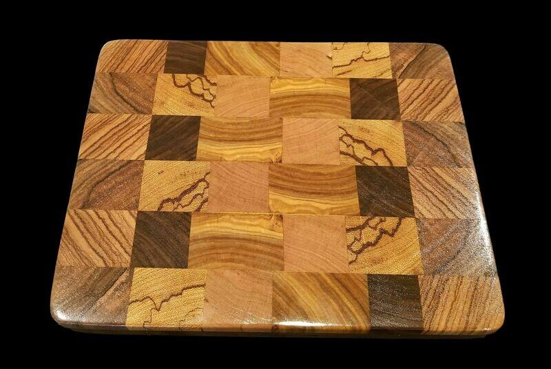 Cutting Board, 2 Layer, End Grain, 11 3/4