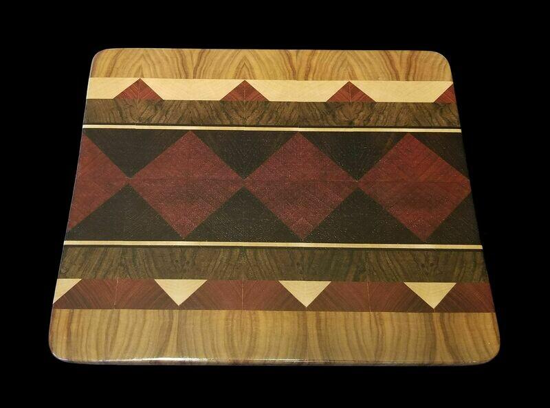 Cutting Board, Diamond, 11 1/2