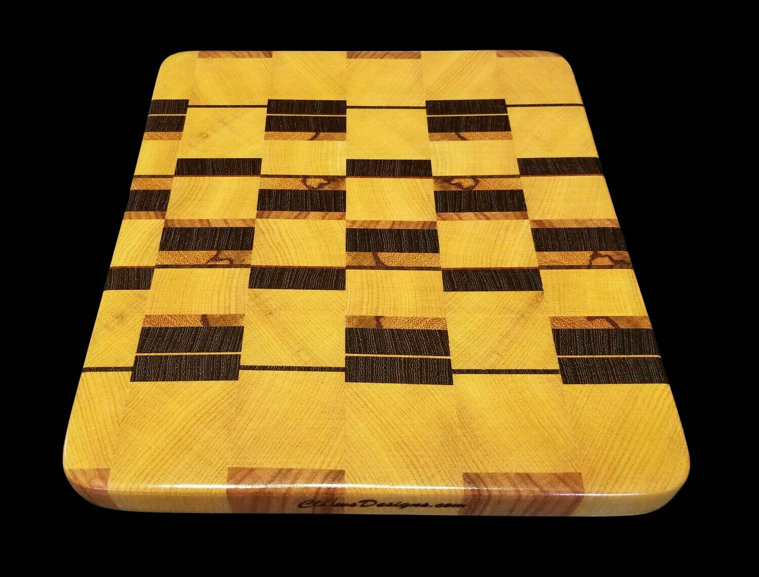"Discounted Cutting Board, End Grain, 9"" x 10 1/4"" x 1"" Thick"