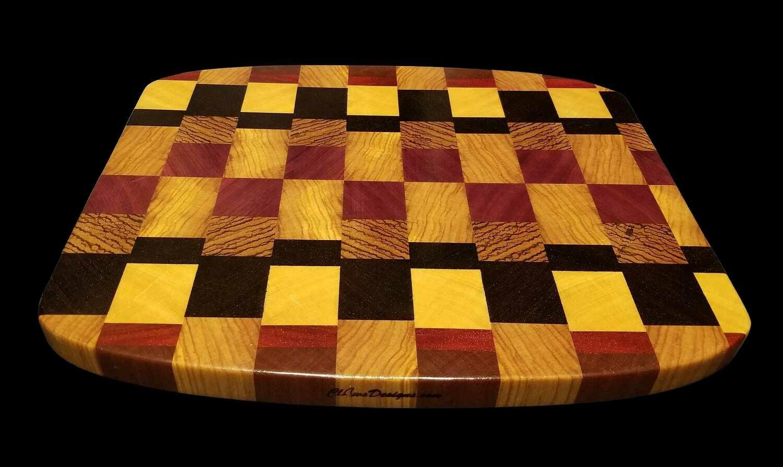 """Cutting Board, End Grain, 16 3/8"""" x 13 3/4"""" x 1 1/8"""" Thick"""