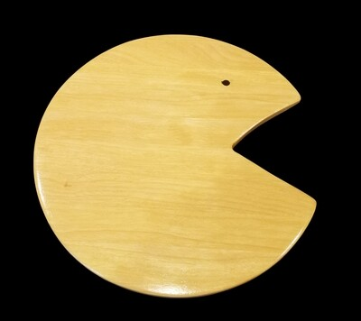 Cutting Board, Long Grain, PacMan, 10 3/8