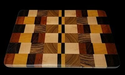 """Cutting Board, End Grain, 15"""" x 10 3/8"""" x 5/8"""" Thick"""