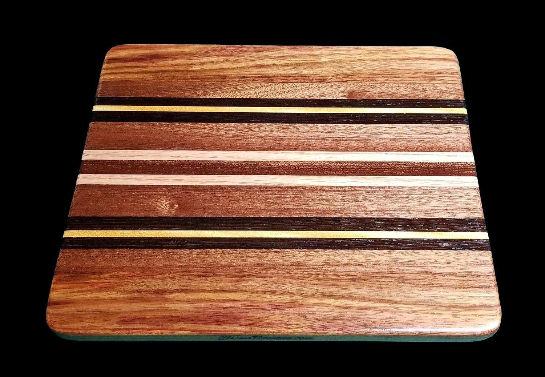 "Cutting Board, Long Grain, 11 3/4"" x 10 1/4"" x 5/8"" Thick"