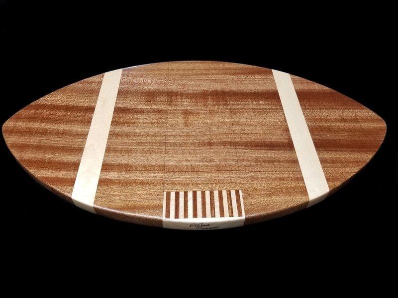 Cutting Board, Football Shaped, 20 3/4