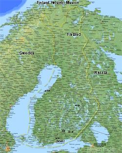 Finland Helsinki Mission LARGE (11x14) Digital Download Only