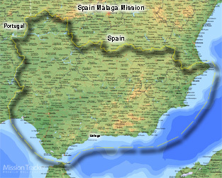 Spain Malaga Mission LARGE (11X14) Digital Download Only