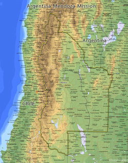 Argentina Mendoza Mission LARGE (11X14) Digital Download Only