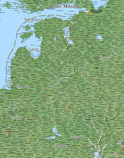 Baltic Mission LARGE (11X14) Digital Download Only