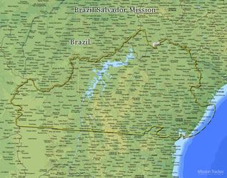 Brazil Salvador Mission LARGE (11X14) Digital Download Only