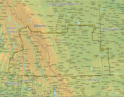 Canada Calgary Mission MEDIUM (8X10) Digital Download Only