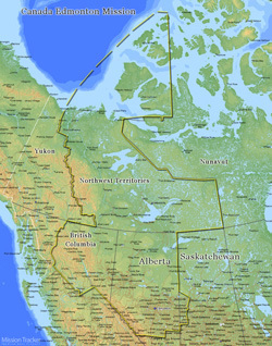 Canada Edmonton Mission LARGE (11X14) Digital Download Only