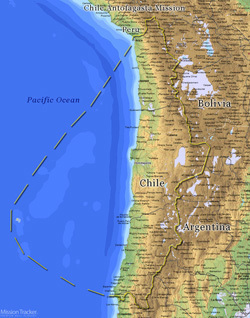 Chile Antofagasta Mission LARGE (11X14) Digital Download Only