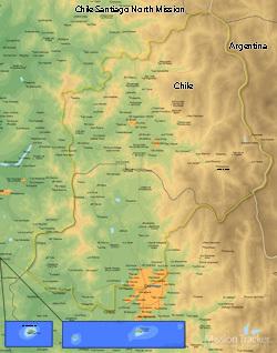 Chile Santiago North Mission MEDIUM (8X10) Digital Download Only