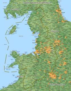 England Manchester Medium (8X10) Digital Download Only