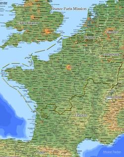 France Paris Mission LARGE (11X14) Digital Download Only