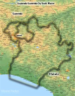 Guatemala Guatemala City South Mission LARGE (11X14) Digital Download Only