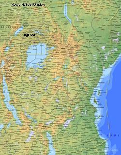 Kenya Nairobi LARGE (11X14) Digital Download Only
