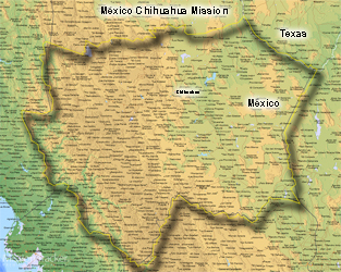 Mexico Chihuahua Mission MEDIUM (8X10) Digital Download Only