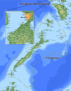Philippines Manila Mission Medium (8X10) Digital Download Only