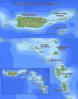 Puerto Rico San Juan Mission LARGE (11X14) Digital Download Only