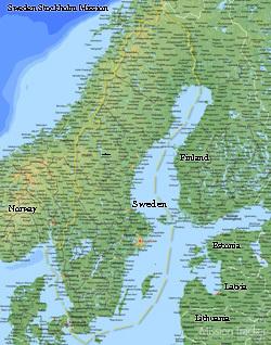 Sweden Stockholm Mission Medium (8X10) Digital Download Only