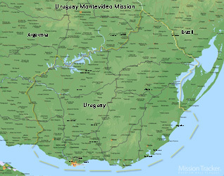 Uruguay Montevideo Mission Large (11X14) Digital Download Only
