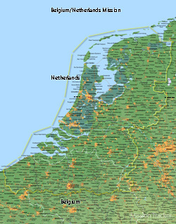 Belgium/Netherlands Mission Medium (8X10) Digital Download Only