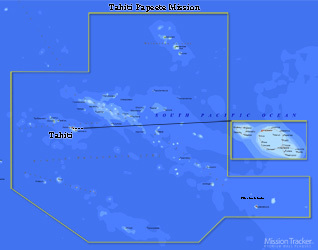 Tahiti Papeete Mission LARGE (11X14) Digital Download Only