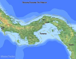 Panama Panama City Mission Large (11X14) Digital Download Only