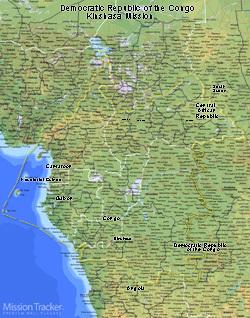 Democratic Republic of the Congo Kinshasa Mission Medium (8X10) Digital Download Only