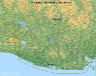 El Salvador San Salvador East Mission Medium (8X10) Digital Download Only