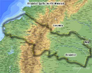 Ecuador Quito North Mission LARGE (11X14) Digital Download Only