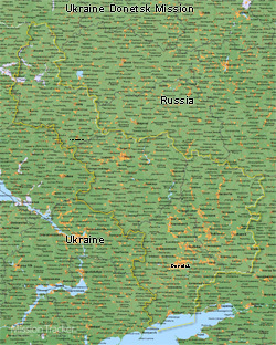 Ukraine Donetsk Mission Medium (8X10) Digital Download Only