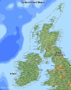 Scotland/Ireland LARGE (11X14) Digital Download Only