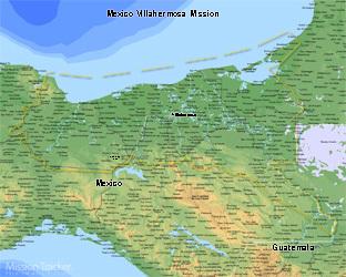 Mexico Villahermosa Mission Medium (8X10) Digital Download Only