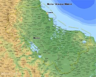Mexico Veracruz Mission Medium (8X10) Digital Download Only